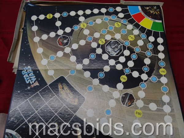 Vintage Star Wars Board Game - Macs Bids